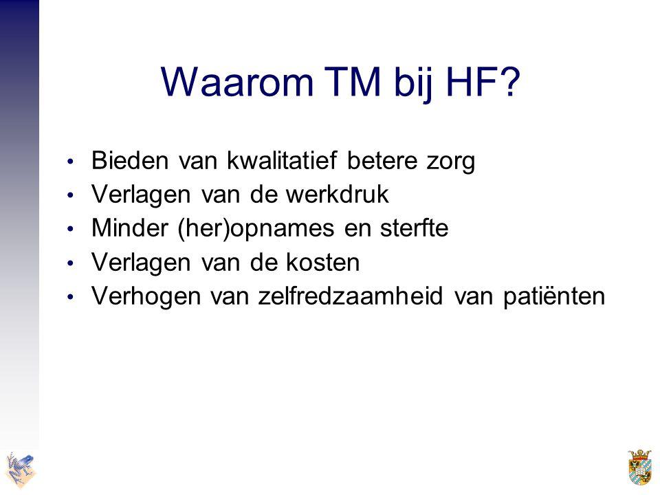 Waarom TM bij HF Bieden van kwalitatief betere zorg