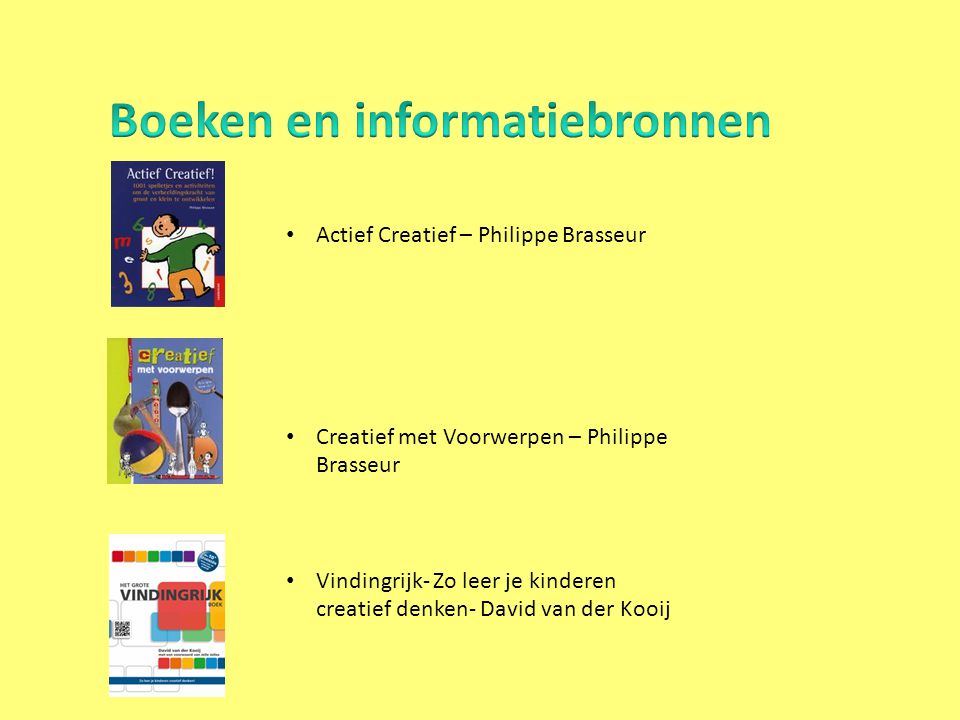 Boeken en informatiebronnen