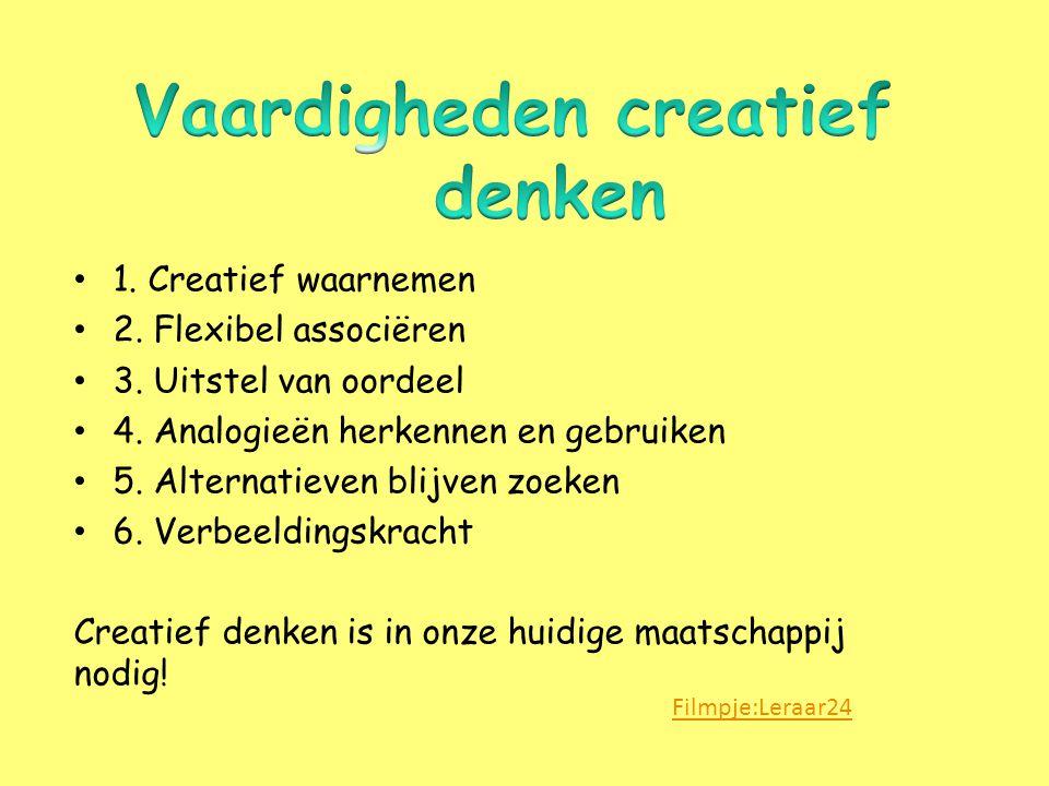 Vaardigheden creatief