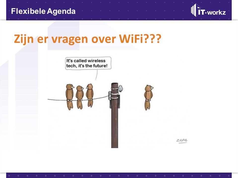 Zijn er vragen over WiFi