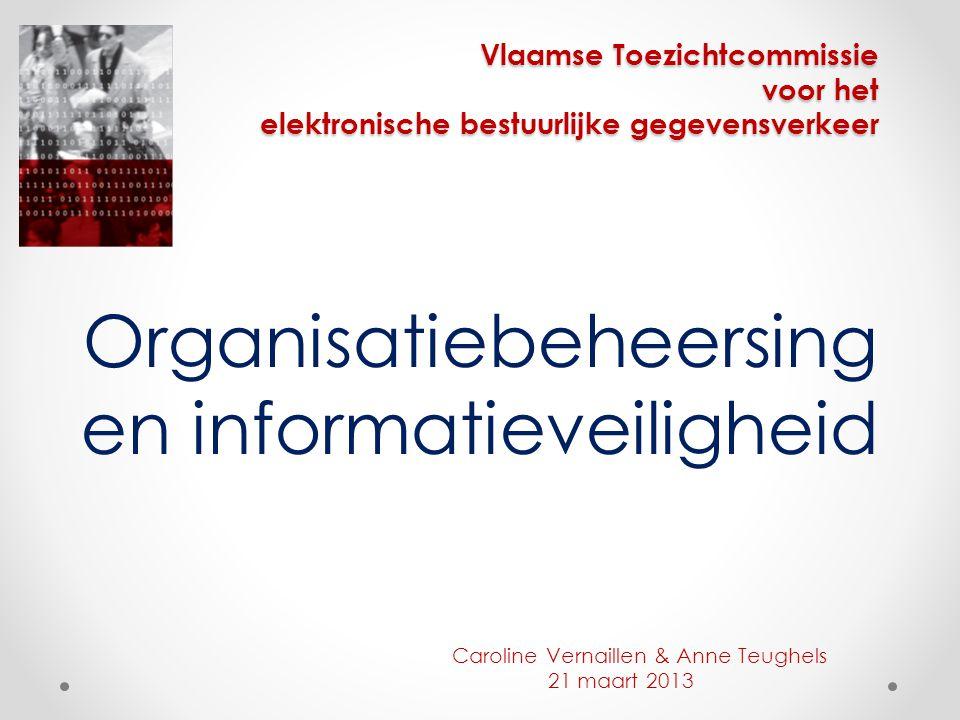 Organisatiebeheersing en informatieveiligheid
