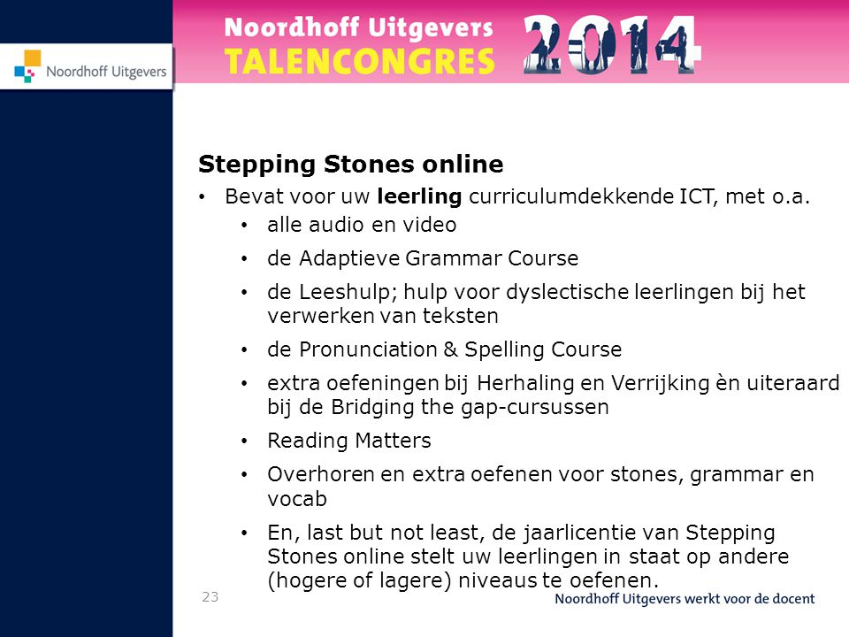 Stepping Stones online