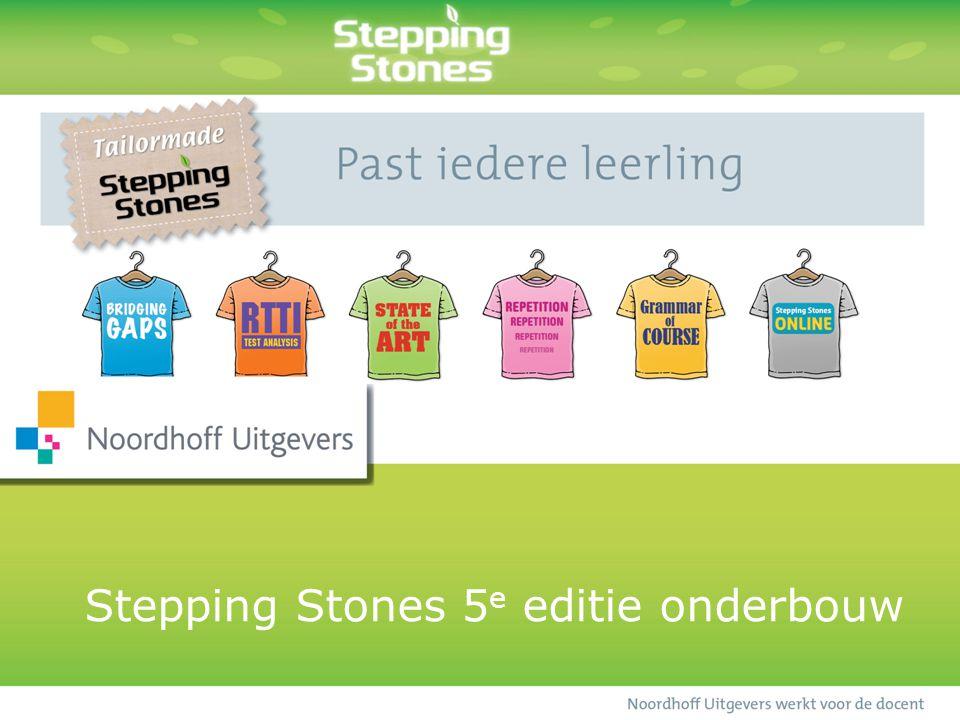 Stepping Stones 5e editie onderbouw