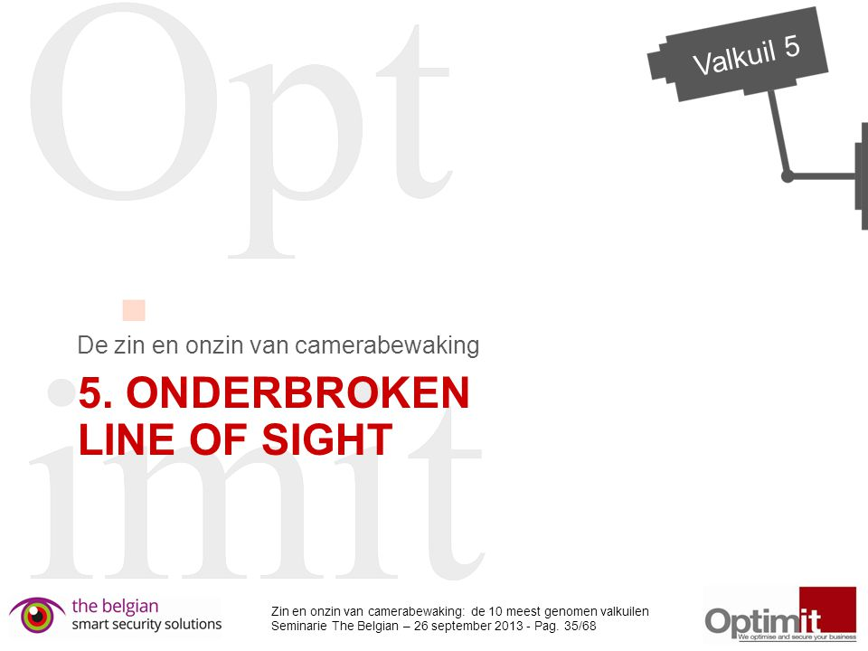 5. Onderbroken line of sight