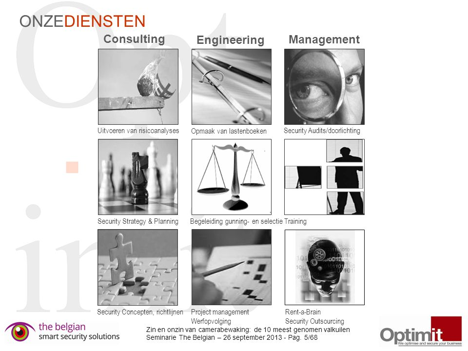 ONZEDIENSTEN Consulting Engineering Management