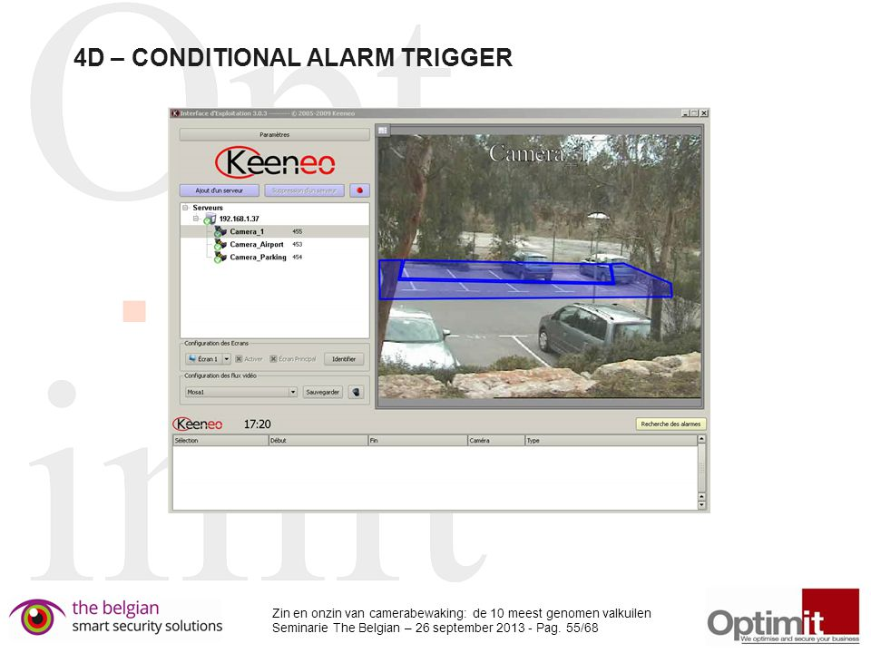 4D – CONDITIONAL ALARM TRIGGER