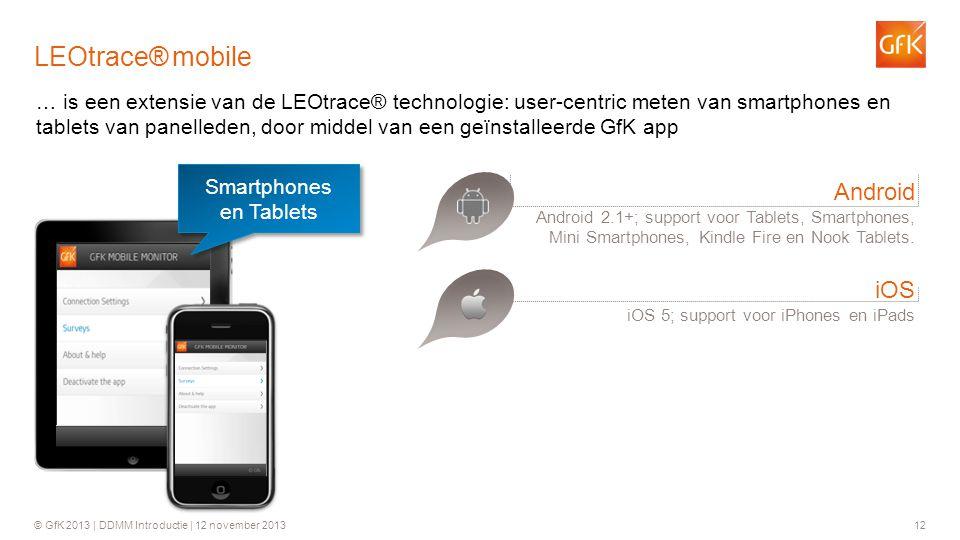 Smartphones en Tablets