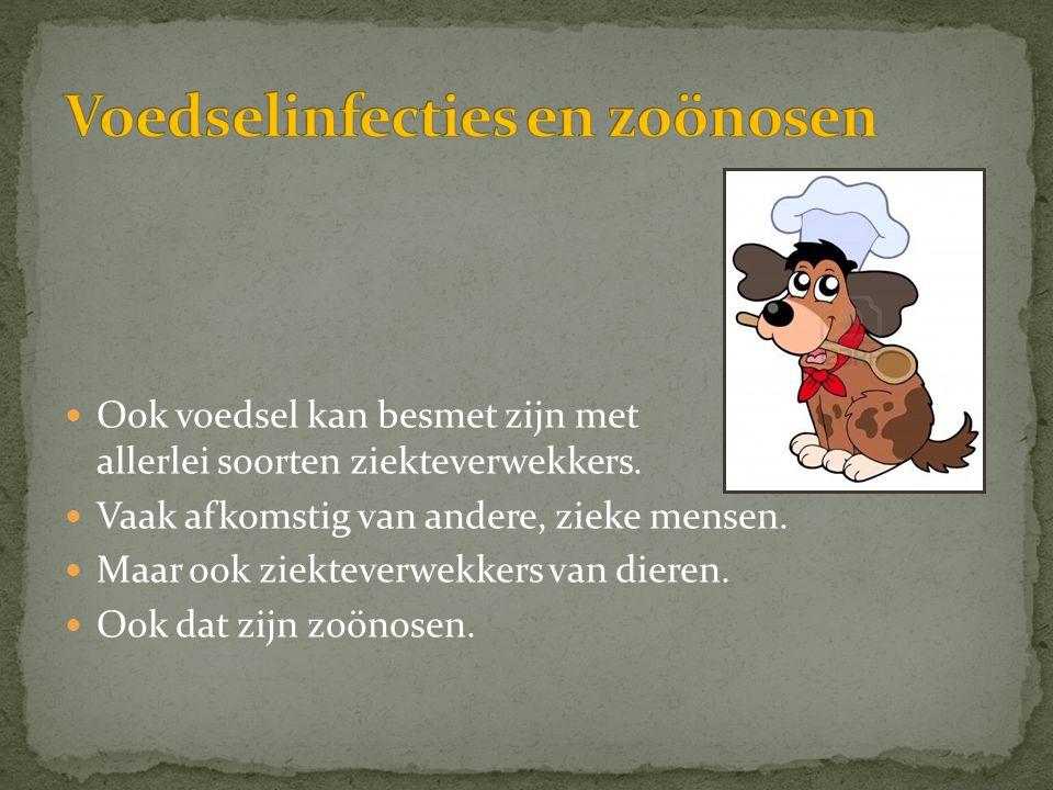 Voedselinfecties en zoönosen
