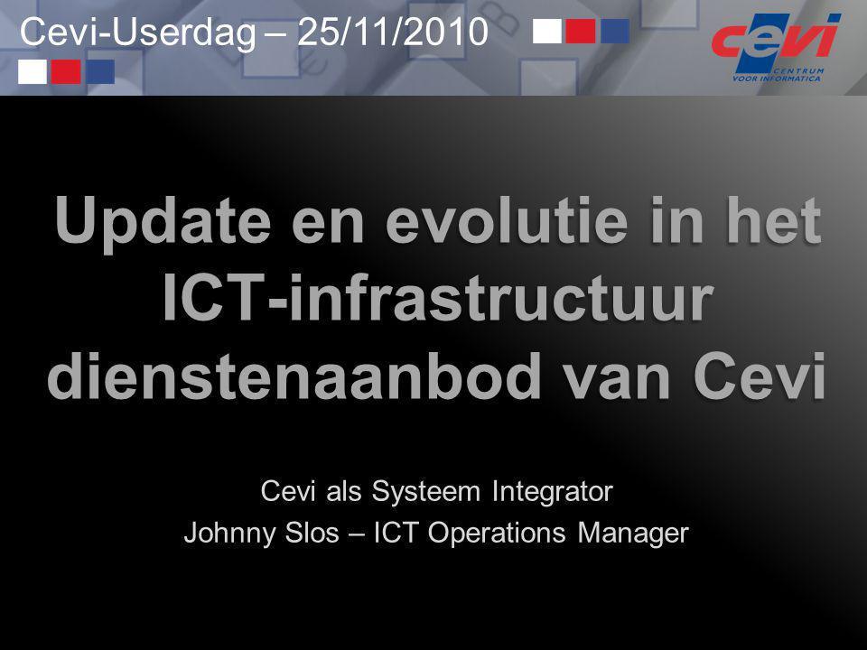 Update en evolutie in het ICT-infrastructuur dienstenaanbod van Cevi