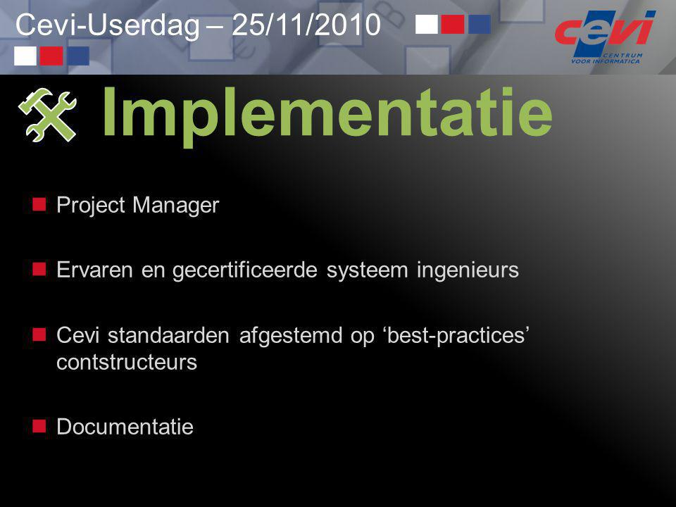  Implementatie Project Manager