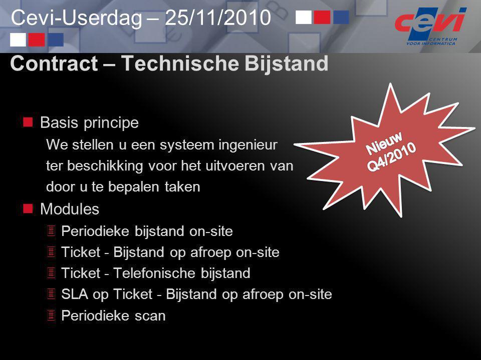 Contract – Technische Bijstand