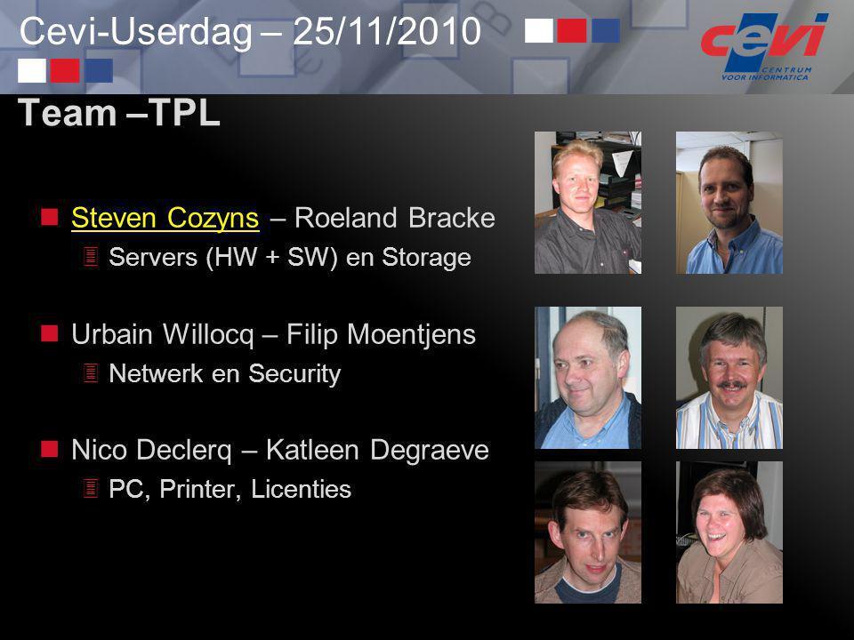 Team –TPL Steven Cozyns – Roeland Bracke