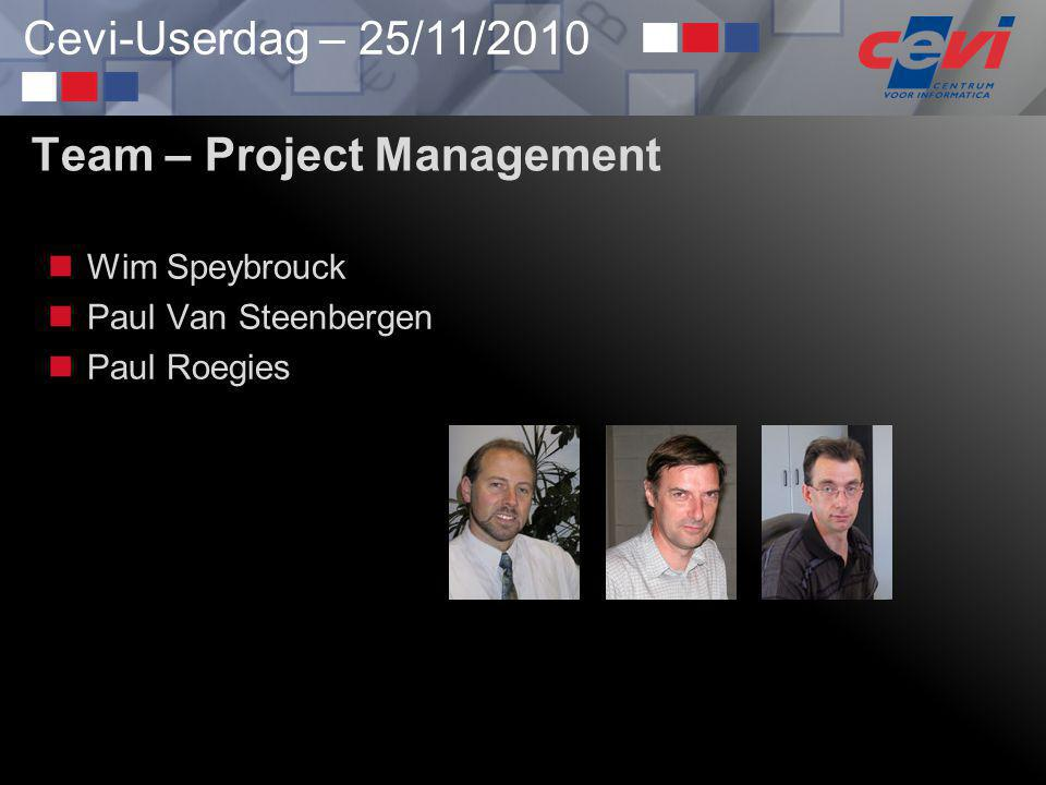 Team – Project Management