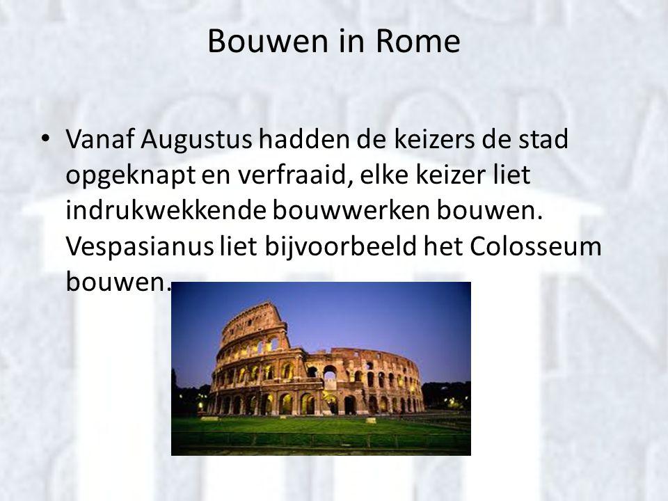 Bouwen in Rome