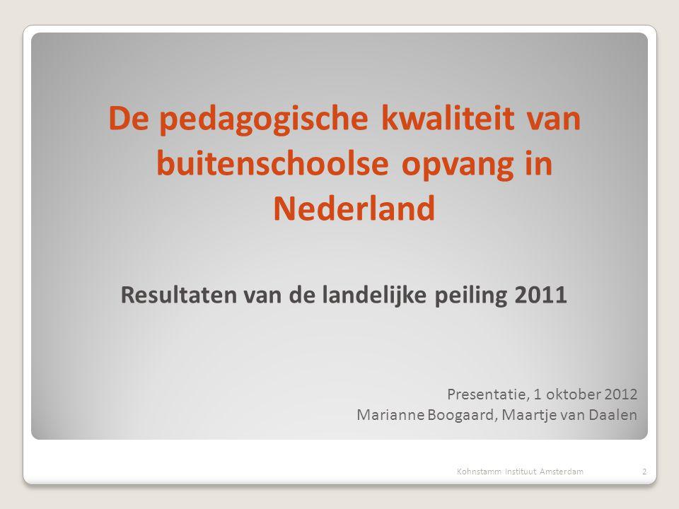 Presentatie, 1 oktober 2012 Marianne Boogaard, Maartje van Daalen