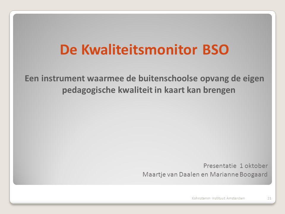 Presentatie 1 oktober Maartje van Daalen en Marianne Boogaard