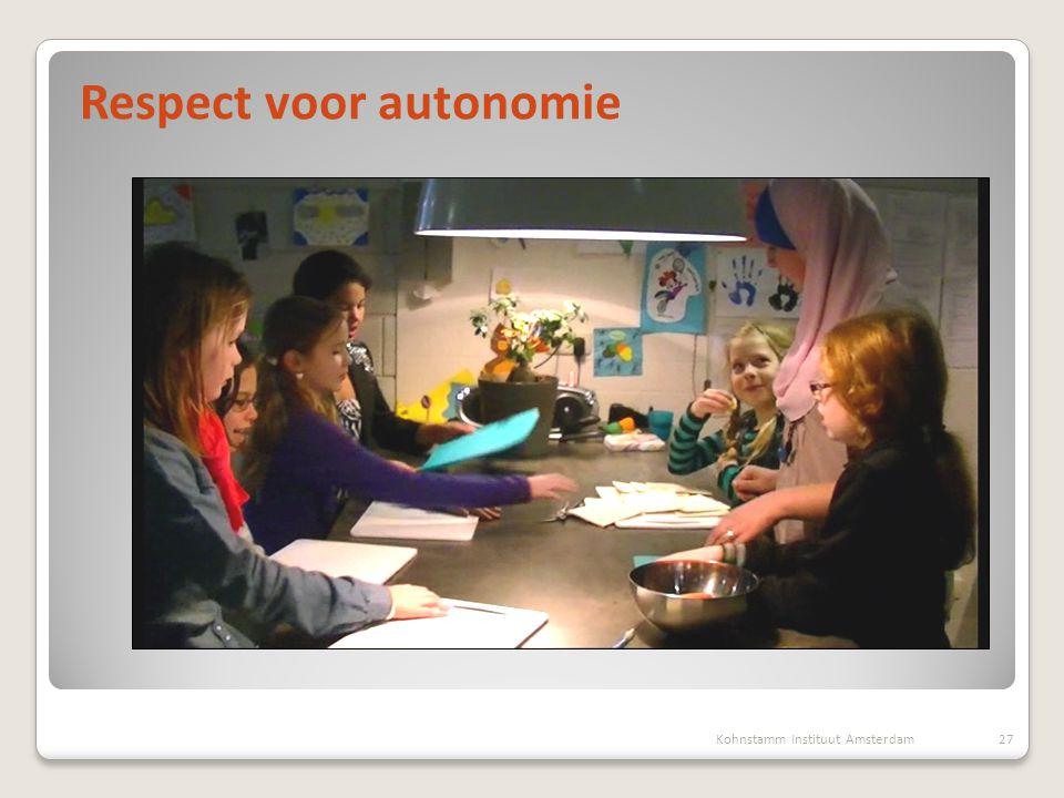 Respect voor autonomie
