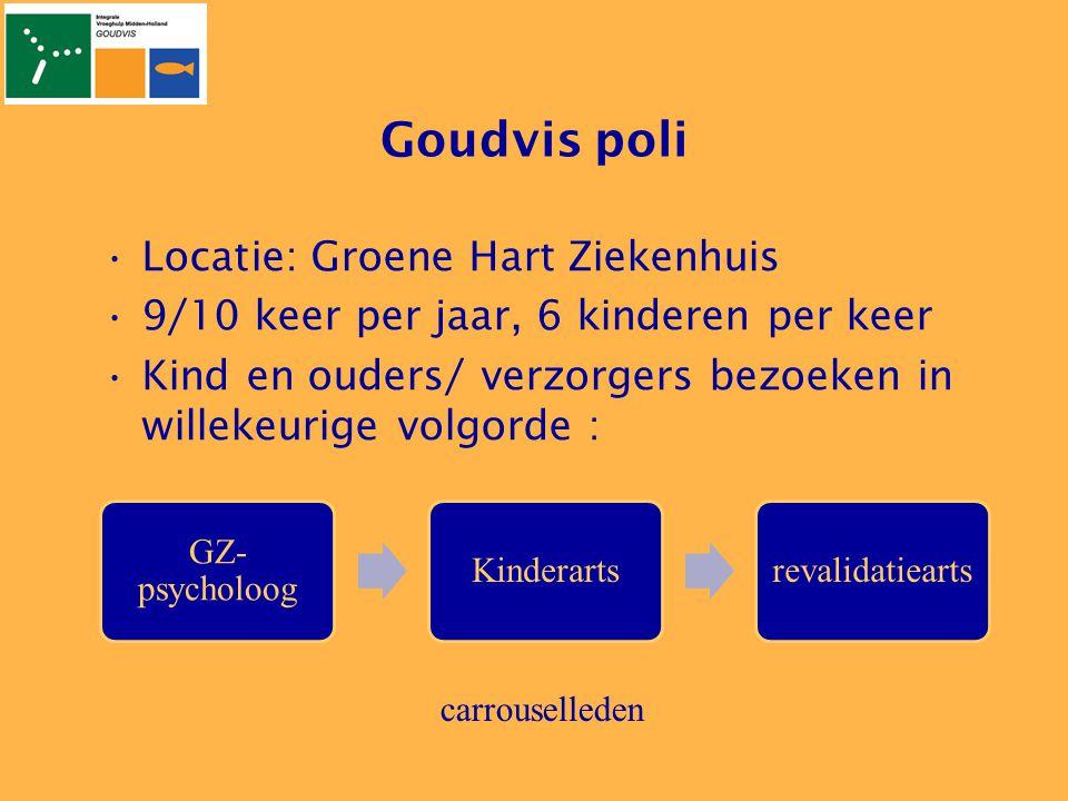 Goudvis poli Locatie: Groene Hart Ziekenhuis