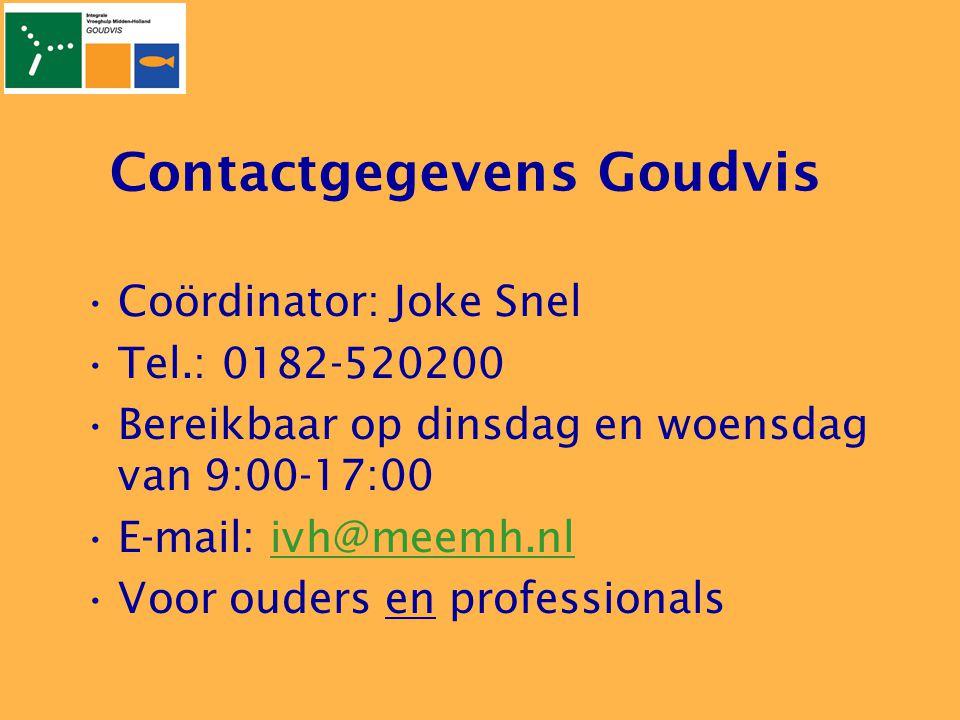 Contactgegevens Goudvis