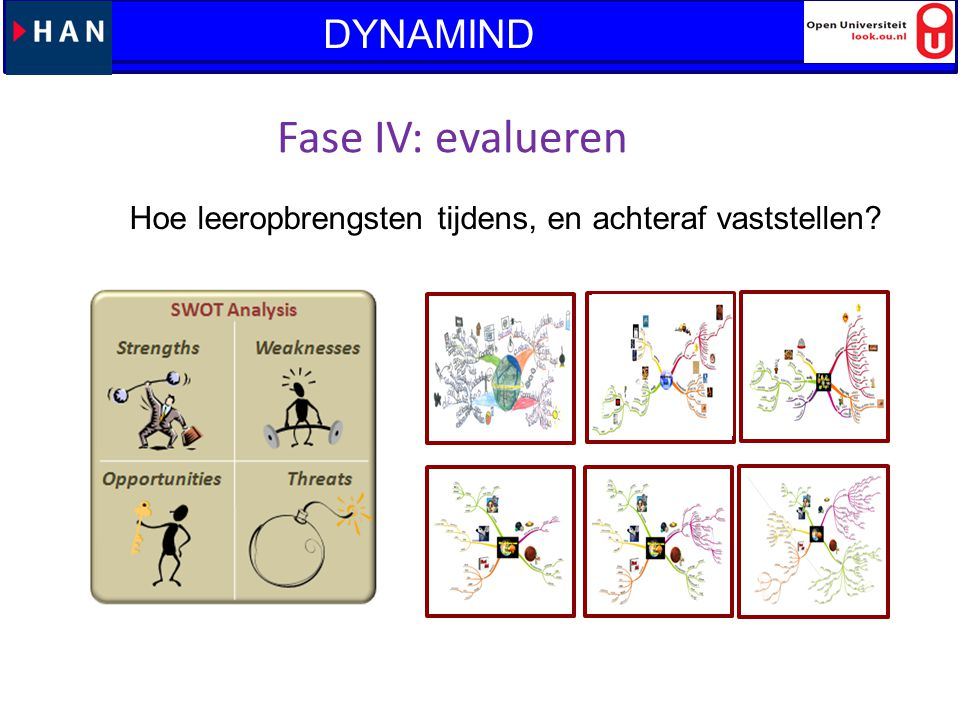 Fase IV: evalueren DYNAMIND