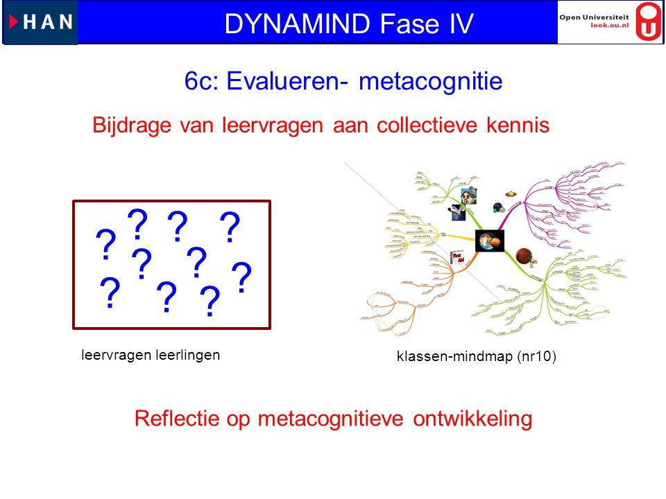 6c: Evalueren- metacognitie