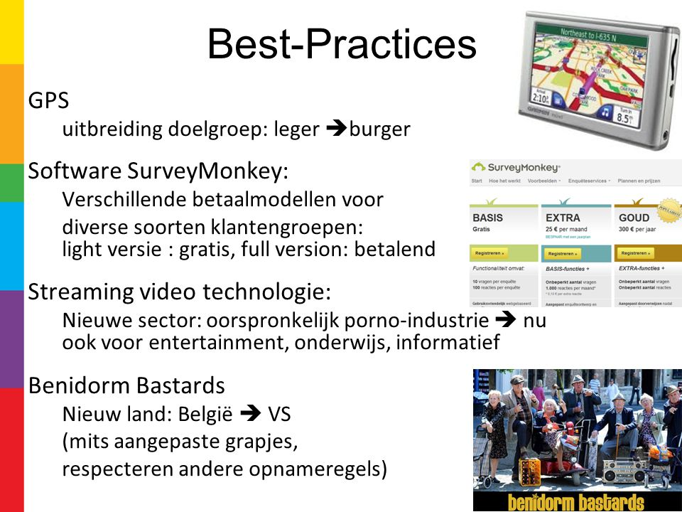 Best-Practices GPS Software SurveyMonkey: Streaming video technologie: