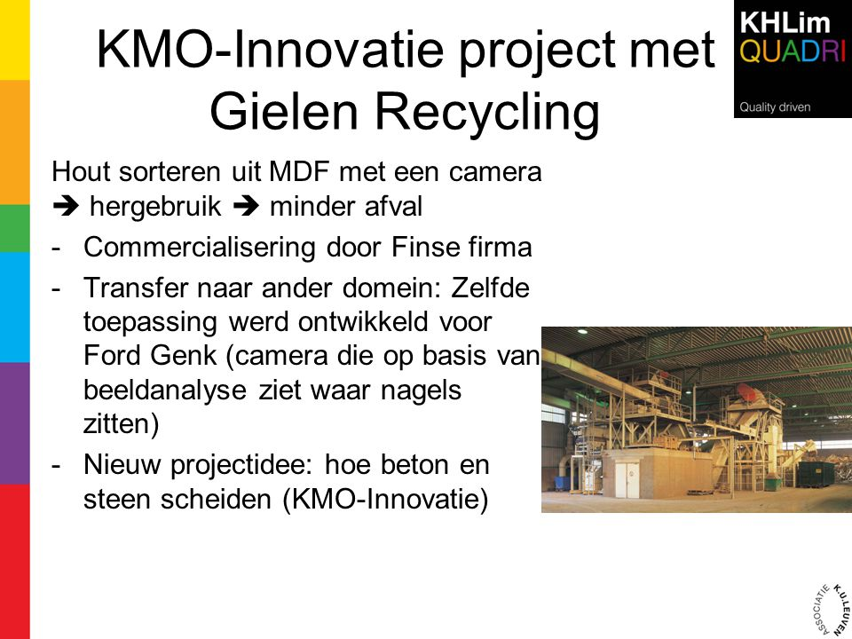 KMO-Innovatie project met Gielen Recycling