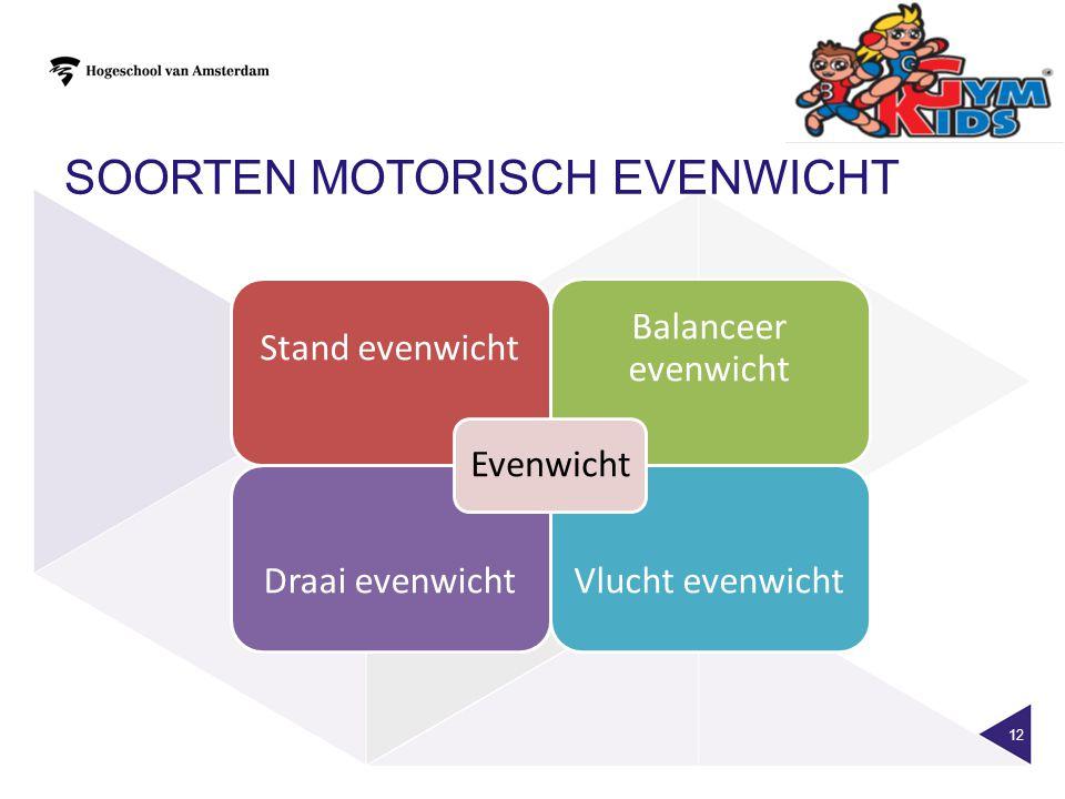 Soorten motorisch evenwicht