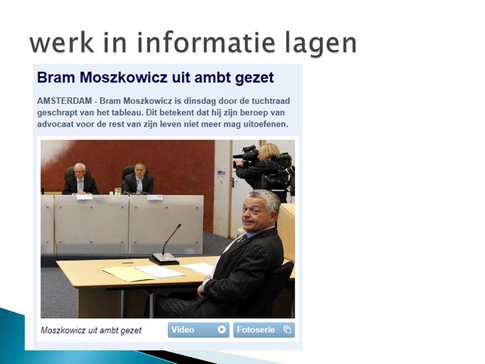 werk in informatie lagen