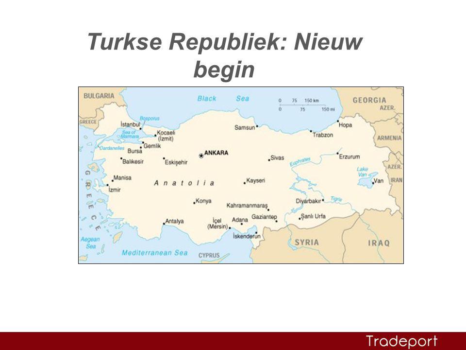 Turkse Republiek: Nieuw begin