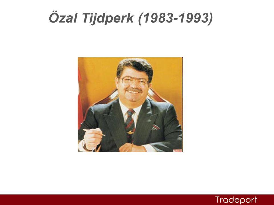 Özal Tijdperk (1983-1993)
