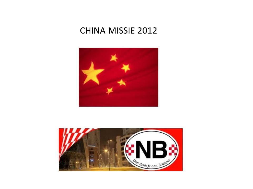 CHINA MISSIE 2012