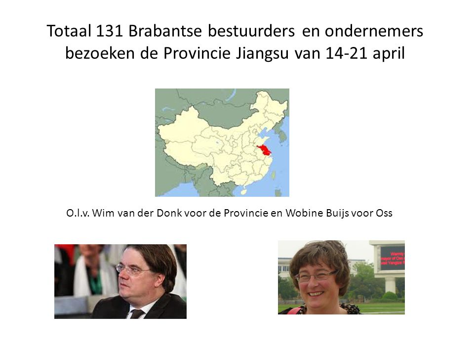 Totaal 131 Brabantse bestuurders en ondernemers
