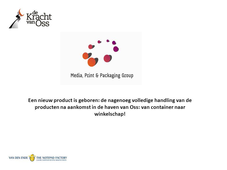 Een nieuw product is geboren: de nagenoeg volledige handling van de producten na aankomst in de haven van Oss: van container naar winkelschap!