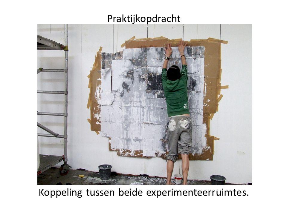 Praktijkopdracht Koppeling tussen beide experimenteerruimtes.