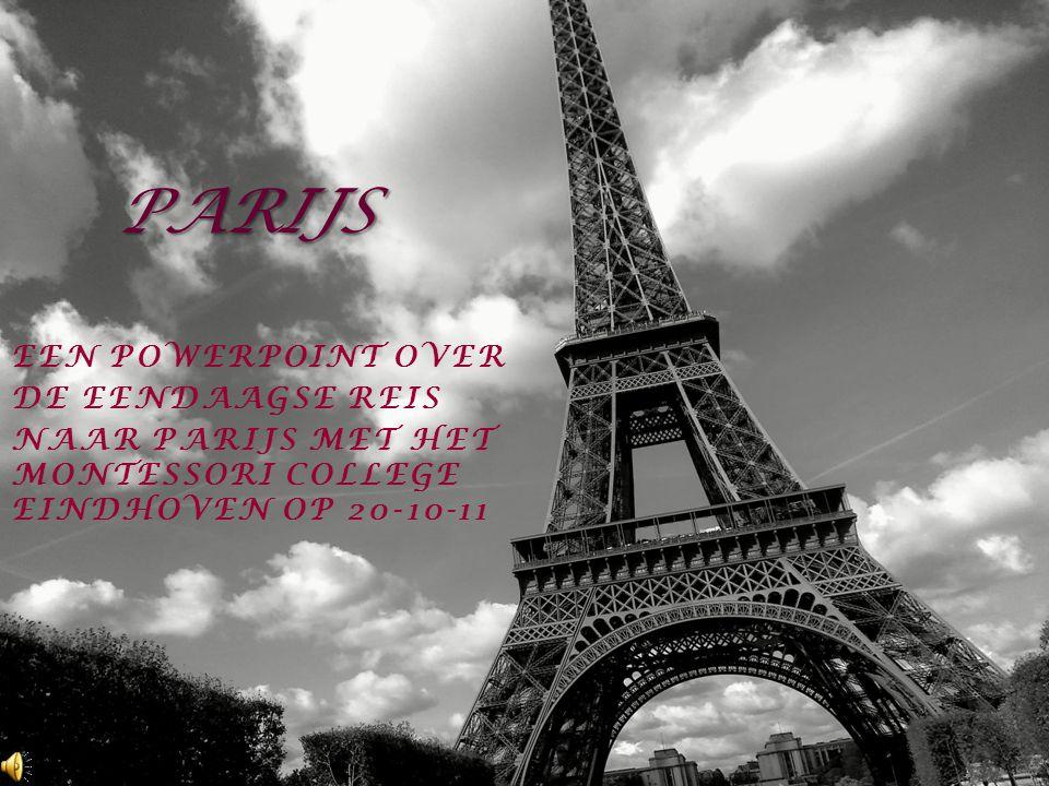 PARIJS Een PowerPoint over de eendaagse reis