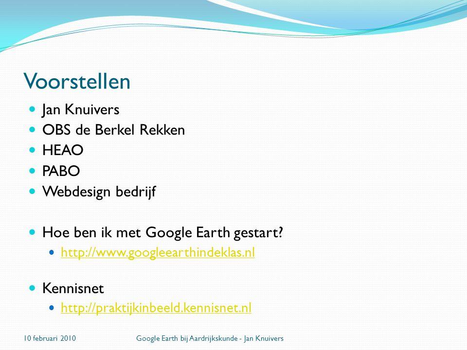 Voorstellen Jan Knuivers OBS de Berkel Rekken HEAO PABO