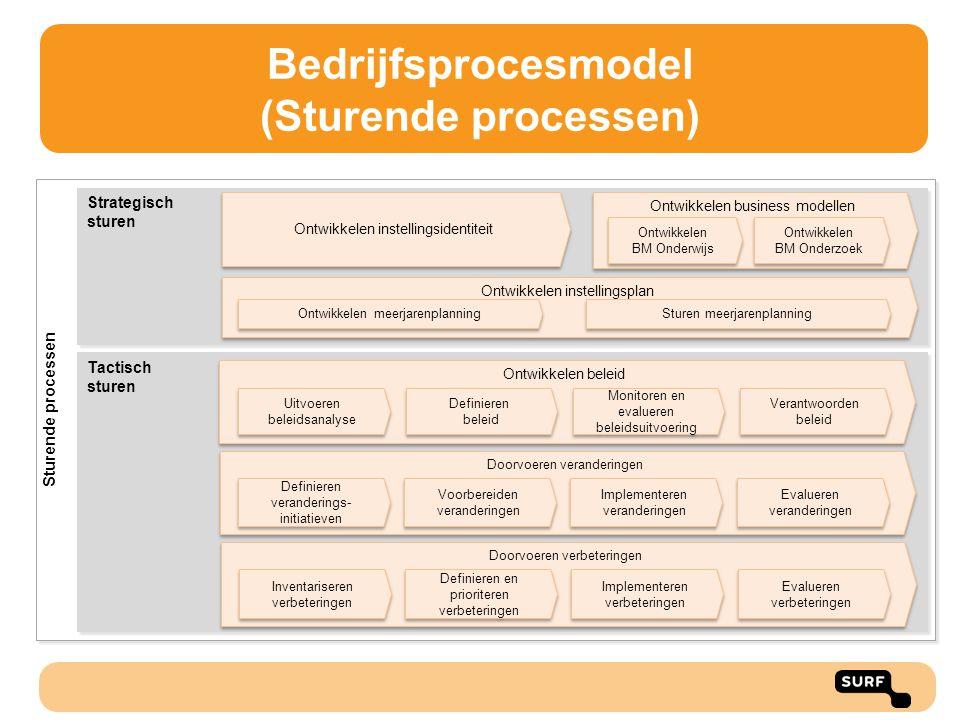 Bedrijfsprocesmodel (Sturende processen)