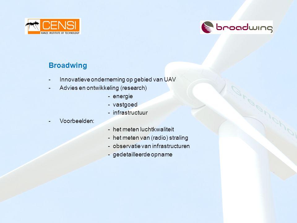 Broadwing Innovatieve onderneming op gebied van UAV