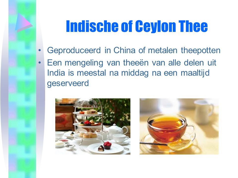 Indische of Ceylon Thee