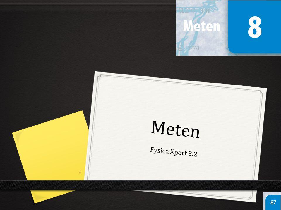 Meten Fysica Xpert 3.2