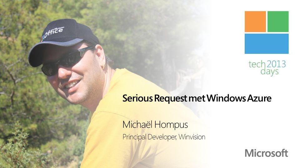 Serious Request met Windows Azure
