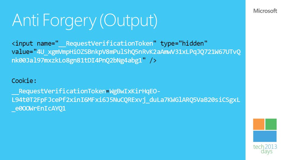 Anti Forgery (Output)