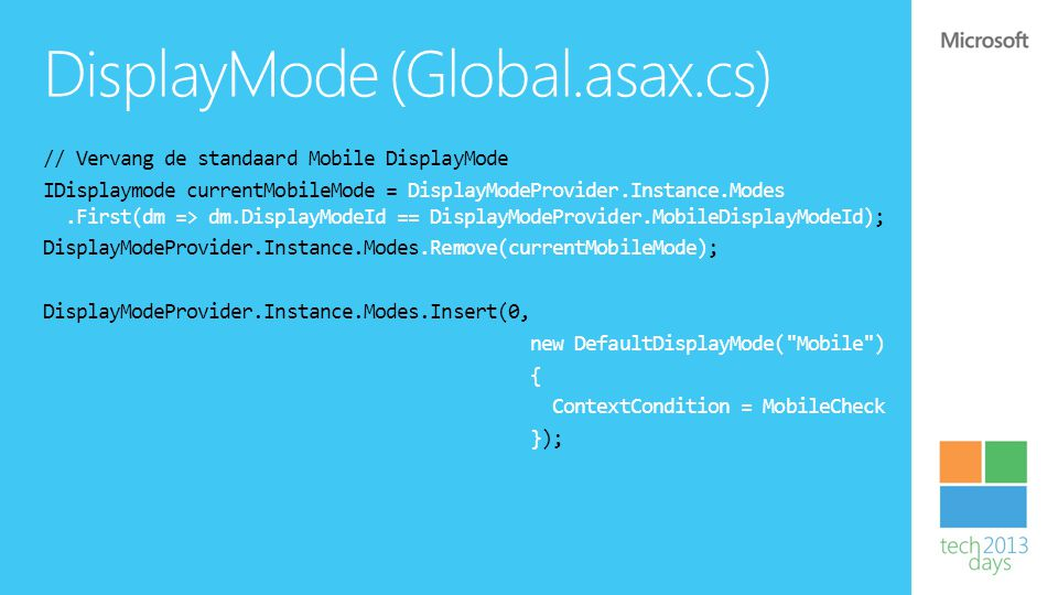 DisplayMode (Global.asax.cs)