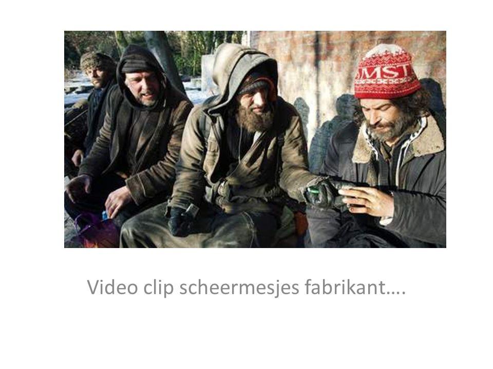 Video clip scheermesjes fabrikant….