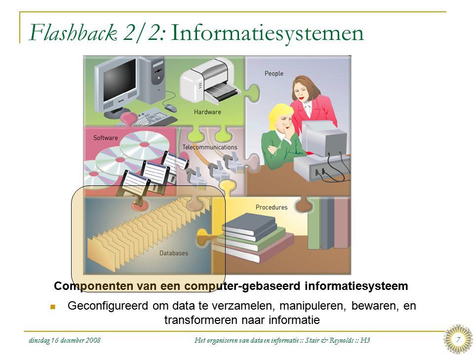 Flashback 2/2: Informatiesystemen