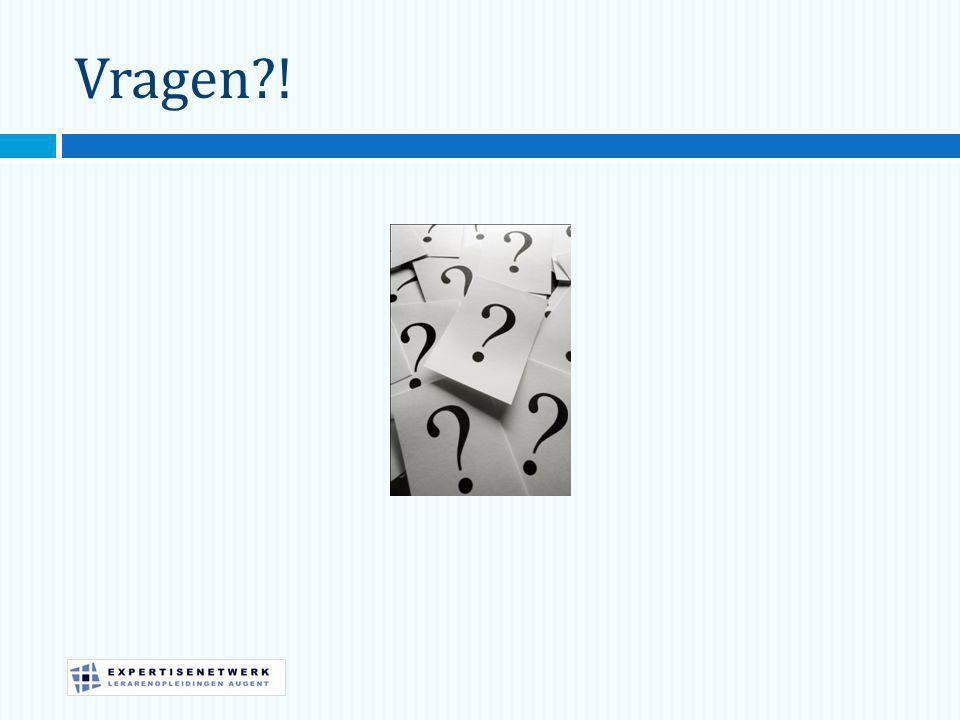 Vragen !