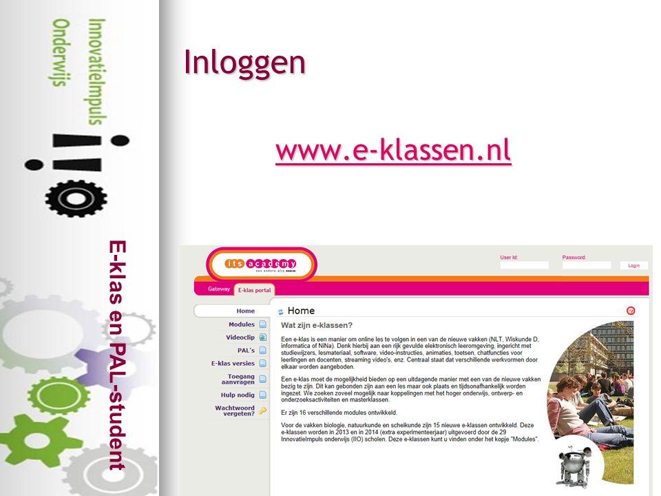 Inloggen www.e-klassen.nl