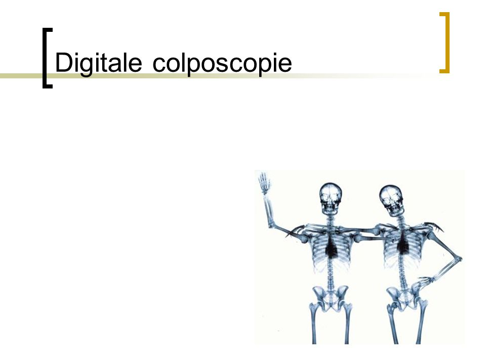 Digitale colposcopie