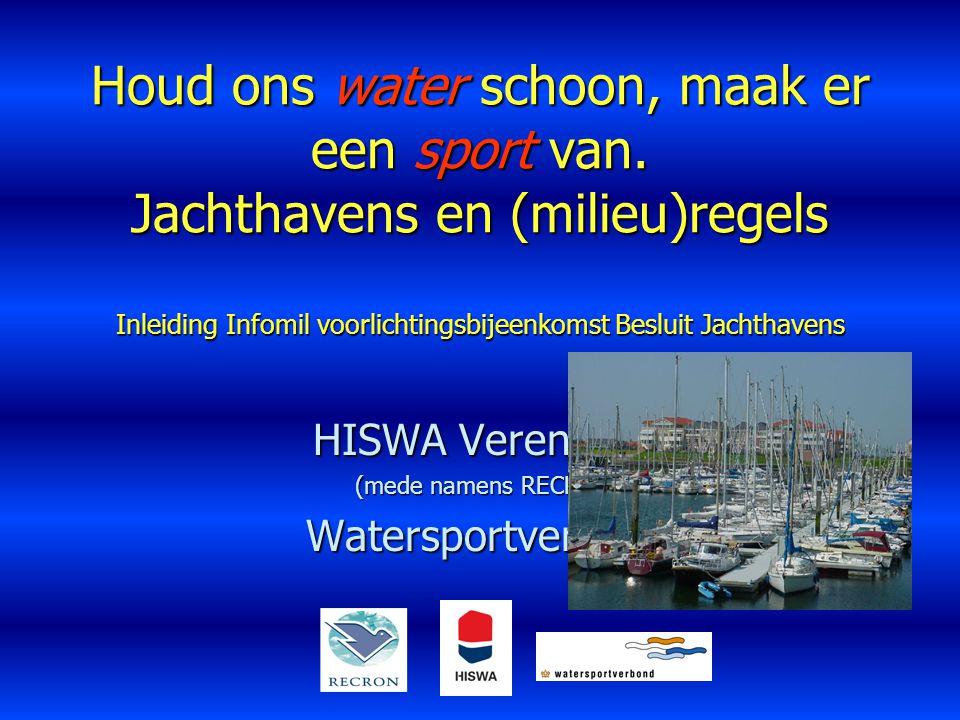 HISWA Vereniging (mede namens RECRON) Watersportverbond